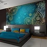 Vlies Fototapete 350x245 cm - 3 Farben zur Auswahl - Top - Tapete - Wandbilder XXL - Wandbild - Bild - Fototapeten - Tapeten - Wandtapete - Wand - Orient Ornament f-A-0146-a-b