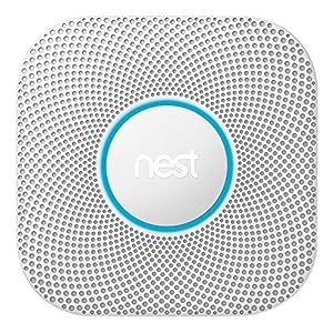 Nest Protect 2generazione di fumo e monossido di carbonio, 1pezzi, bianco, s3000bwde