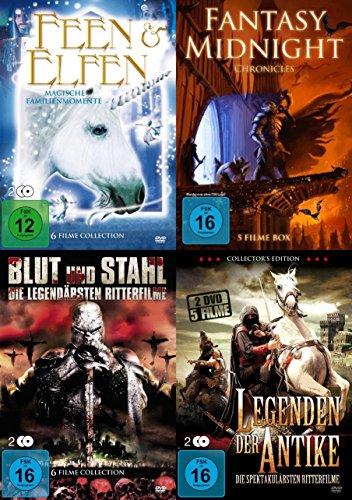 Bild von 22 FANTASY FILME PAKET - Die Welt der Sagen Mythen Fabelwesen und der Antike - RITTER * DRACHEN * ZAUBERER * ELFEN * FEEN * TROLLE DVD Edition
