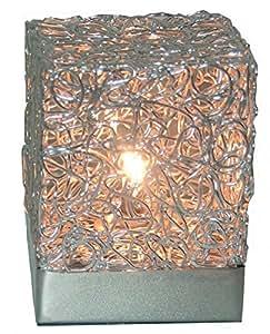 Lampe de chevet 'cubus'10 x 10 x 13,5 cm-lampe de lecture
