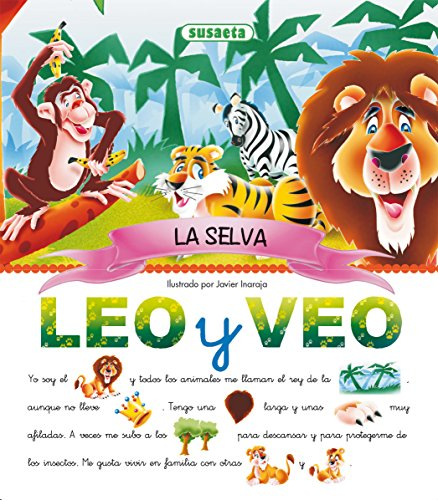 La selva (leo y veo...) (Spanish Edition)