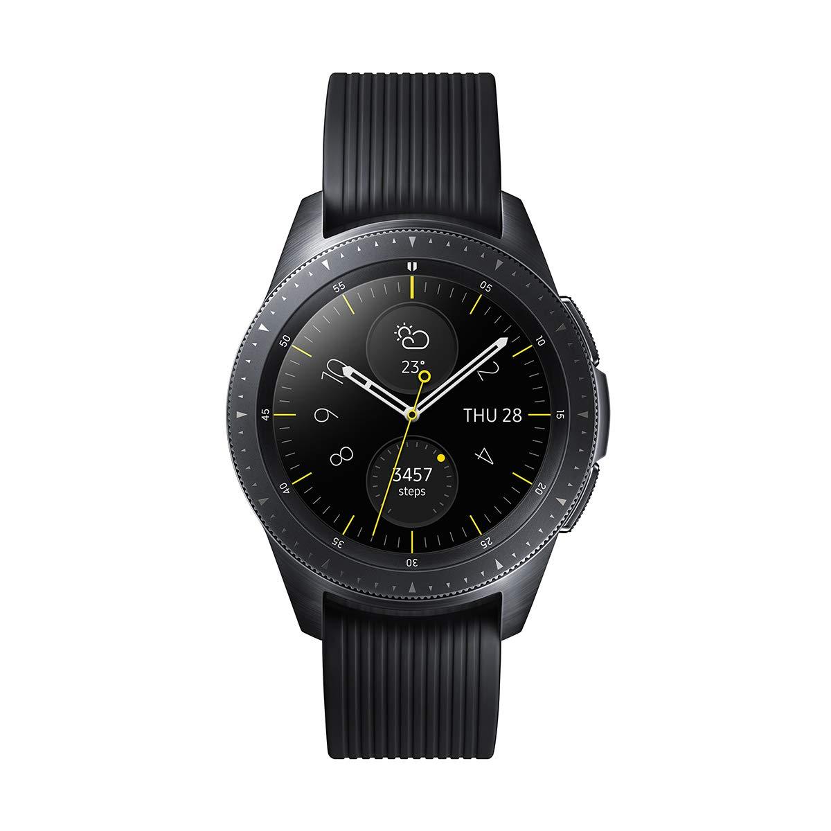 Samsung Galaxy Watch - Reloj Inteligente, Bluetooth, Negro, 42 mm- Version española 1