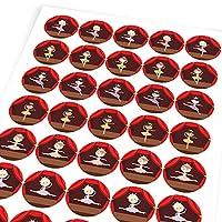 Chunky Hamster Beautiful Ballerinas, Reward Sticker Labels, Children, Parents, Teachers