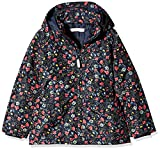NAME IT Mädchen Jacke NMFMELLO Jacket Flower, Mehrfarbig Dress Blues, 110