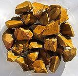 Jaspis gelb braun, 0.8 kg Rohsteine aus Madagaskar (1 kg = 16,80 EUR)
