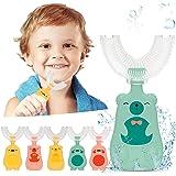 BETUGIFT Kinder U-Form Zahnbürste, Kinder U-förmige Zahnbürste Silikonbürstenkopf, Mundzahnreinigungszahnbürste Für Kinde Bür
