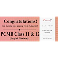130 Topic Wise tests For PCMB Combo Pack Class 11 & 12 [Download: Registration Code]