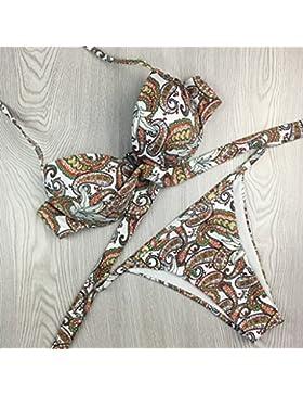 Moderno y cómodo bikini de acero _ nación moderna, cómoda y moderna, bikini, bañador, el color de la imagen la...
