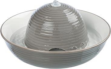 Trixie Trinkbrunnen Keramik, Vital Flow 1,5 l grau/weiß