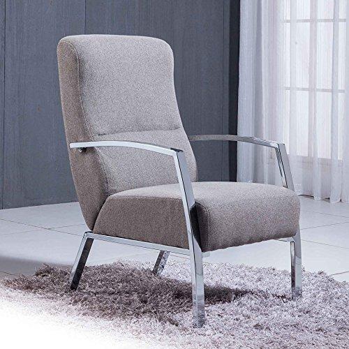 Sillón butaca modelo TANGO Elegance color gris ceniza – Sedutahome