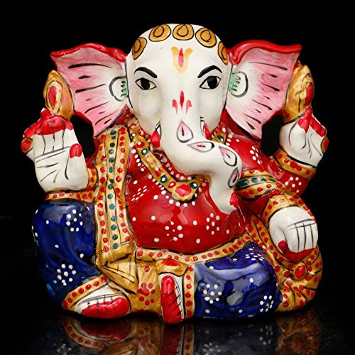 Lord Ganesh Statue CraftVatika Rare Hindu Ganesha, motivo Good Luck, God-Statuetta