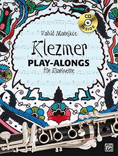 Vahid Matejkos Klezmer Play-alongs für Klarinette (Buch/CD)