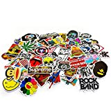 Oblique-Unique® Aufkleber 100 Stück Sticker Graffiti Style Reisen Skateboard Snowboard Vinylaufkleber Graffiti Laptop Gepäck Auto Fahrrad