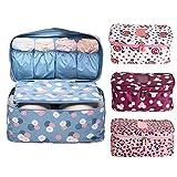 #2: Allmart Enterprise Undergarments Innerwear Storage Travel Cosmetic Organizer Toiletry Bag, 1 Piece, Assorted Colors