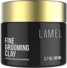 Lamel Hair Styling Clay For Men, Women Strong And Natural Molding Hair Clay For Thin, Long, Thick Hair Top Styling Product 2.7oz