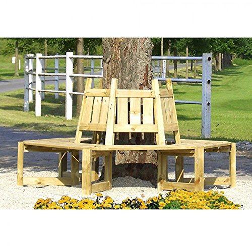 Gartenpirat Baumbank Gartenbank für die Aufstellung um einen Baum