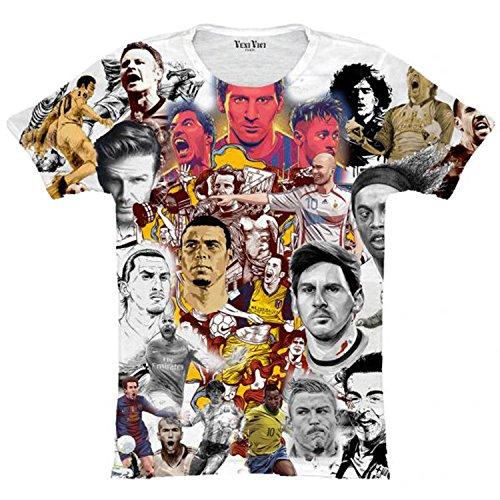 Veni Vici T-Shirt Football Mehrfarbig