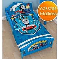 Thomas & Friends Patch Junior Toddler Bed plus Deluxe Foam Mattress