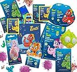 Tinti Planschtüte Sommer XL mit Dino-Ei für Jungs oder Feen-Ei für Mädchen (Mädchen)