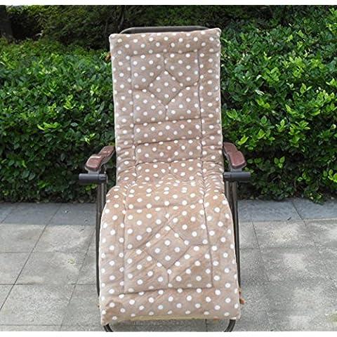 Sedia a dondolo in peluche in vimini sedia cuscini sedia cuscino cuscini da divano, 1, 52* 160cm
