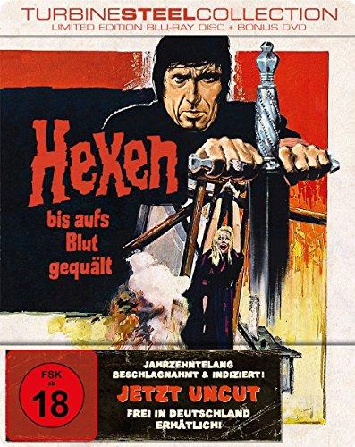 Hexen bis aufs Blut gequält - Limited Edition Turbine Steel (+ Bonus-DVD) [Blu-ray]