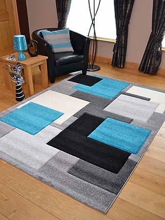 Hard surface, wool coffee stain rug