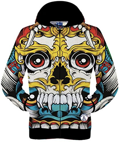 pizoff-unisex-hip-hop-zip-through-hoodie-jackets-with-animal-3d-digital-print-drawstring-hood-zip-po