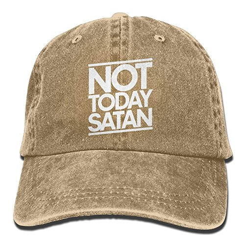 Not Today Satan Unisex Adult Adjustable Retro Dad Hat