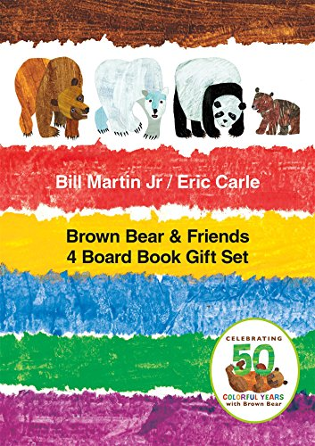 Brown Bear & Friends 4 Board Book Gift Set (Brown Bear and Friends)