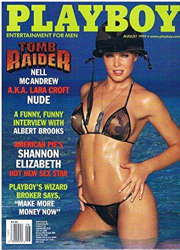 US Playboy August 1999 Nel Rebecca Scott Shannon Elizabeth, Nell McAndrew