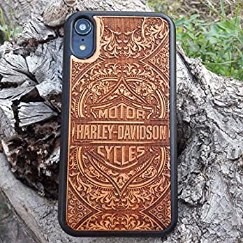 Holz Handyhülle Kompatibel mit iPhone, Samsung & Huawei