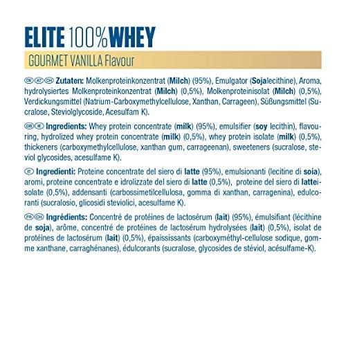 Dymatize Elite 100% Whey Protein – Premium Proteinpulver – Zuckerarmer Eiweiß-Shake – 2,1 kg Gourmet Vanilla - 5