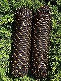 Nr.41 Schwarze Festmacherleine,Bootstau 16 mm x 30 m,Tauziehen,Schleppseil,Seil,Schnur,Leine,Bänder,Ankerleine,Schleppleine,Seile
