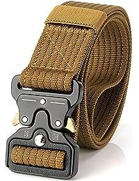 Ceinture tactique de 3,8 cm, ceinture durable, ceinture de nylon militaire  réglable ca237d96289