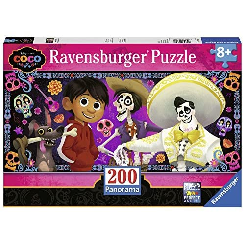 Ravensburger-Coco-Remember Puzzle 200 Piezas, Multicolor, pezzi (1) 1