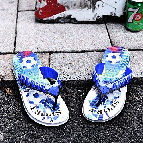 Chaussons dété, mens word faites glisser, mens toe sandales, chaussons antidérapant gray