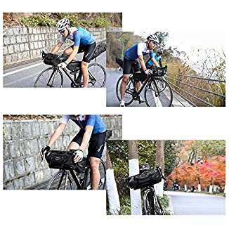 Roswheel Bolsa Delantera bikepacking 5