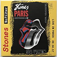 THE ROLLING STONES LIVE IN PARIS 22 October 2017 (show 2 of 3) No Filter Tour limited edition 2CD set in cardbox