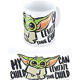 Grupo Erik TAZ036 Tazza da Colazione, Ceramica, Baby Yoda