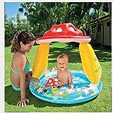 WJSW aufblasbare Spielwaren Sommer-Pilz-Baby-Sonnenschutz-aufblasbarer Swimmingpool, Planschbecken,...