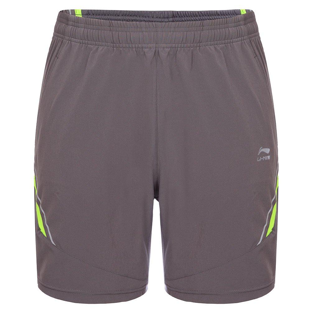 Li-Ning Running Shorts, Granit, M, 89823_829_A-275