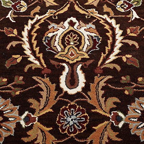 Orient 113 Traditional Rug Brown Cream Beige Thick Antique 68 x 235cm (2ft3 x 7ft7 approx) Runner