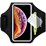 Fascia da Braccio Sportiva Running Armband per iPhone 11/11 Pro/XR/XS/8/7/6s, Samsung Galaxy A 50s/A 30s/S10/S10 +/S9/S9 +/S8
