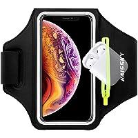 Fascia da Braccio Sportiva Running Armband per iPhone 11/11 Pro/XR/XS/8/7/6s, Samsung Galaxy A 50s/A 30s/S10/S10 +/S9/S9…