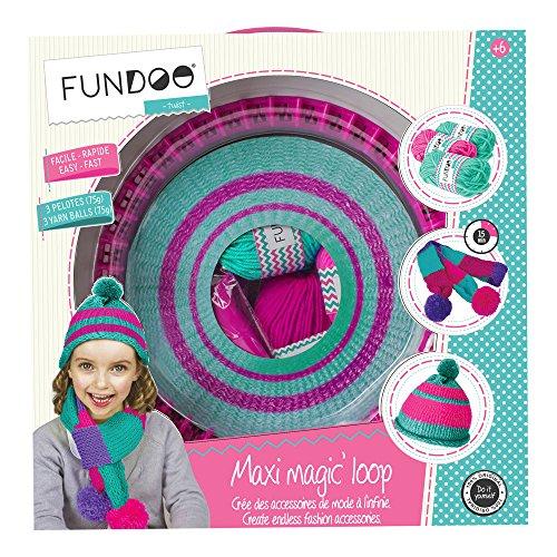 Fundoo DARP-CFUN071Maxi-Magic-Loop-Strickmaschine Twist Stricken Nadeln