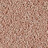 BODENMEISTER BM72375 Teppichboden Auslegware Meterware Hochflor Shaggy Langflor Velour 400 und 500 cm breit, verschiedene Längen, Variante:, Rosa Orange, 7,5 x 4 m