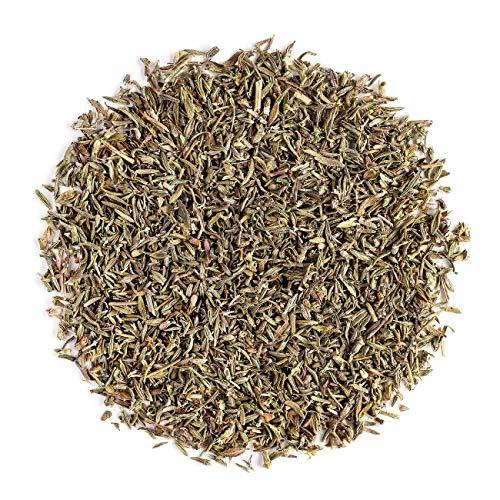 Omega-3-minze (Thymian Biologischer Kräuter aus Thym - Bio Quendel perfekt zum Verfeinern von Speisen - Bio Thym Tee Kräut - Thymiantee - Tymiantee 100g)