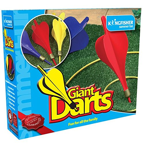 Kingfisher GA002 Giant Darts Garden Game - Multi-Colour