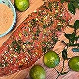 """Hamburger Fischwerker Graved Lachs """"Caipirinha"""" mit Cachaca, Minze und Limonenzesten 300g"""