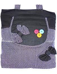 Xclent Women's Canvas Trendy Stylish Hand Bag, Office Bag, College Bag, Purse, Shopping Bag, Outdoor Bag (Length... - B0785J5GNW